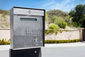 Gated security intercom