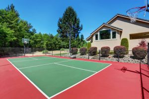 Private Home Basketball Court
