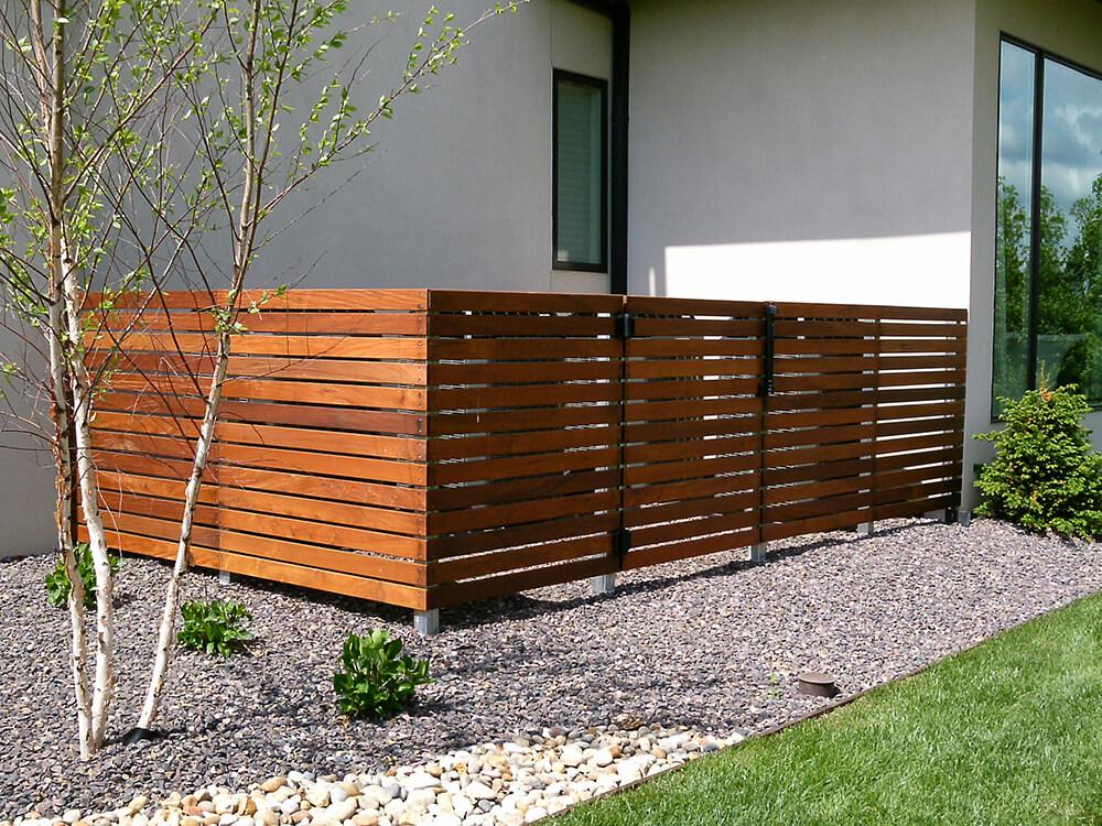 Carnahan-White Fence Company HVAC Fence