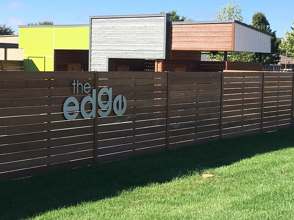 The Edge Privacy Fence Carnahan-White