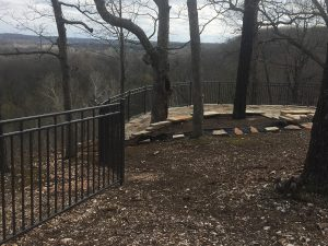 fence-with-view Carnahan-White Fence Company
