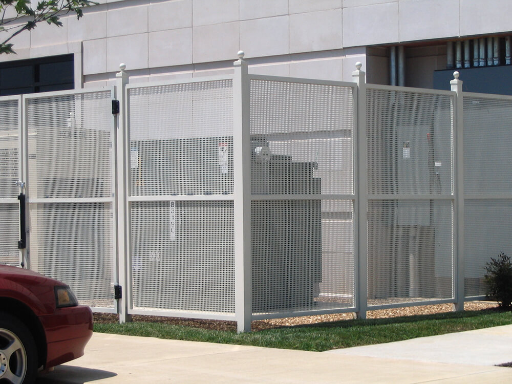 Equipment Enclosure 1 Carnahan-White Fence Company