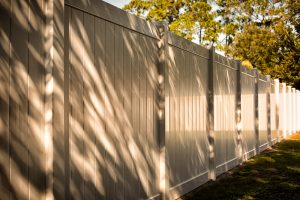 Privacy Fence Basketball Court