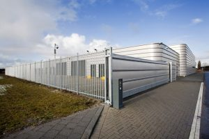 Carnahan White Security Fencing